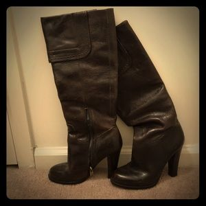 Joan and David Leather Boots